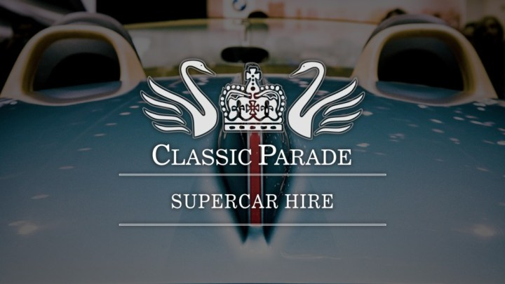 Andrew Brown's Supercar Hire Company, Classic Parade, Continues to Expand