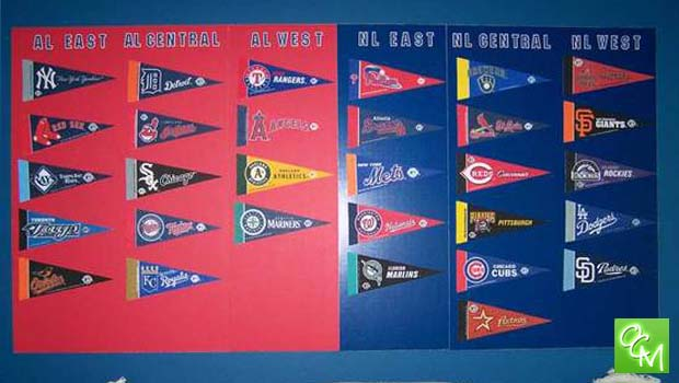 mlb standings board project