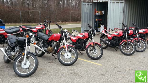 Macomb Community College Motorcycle