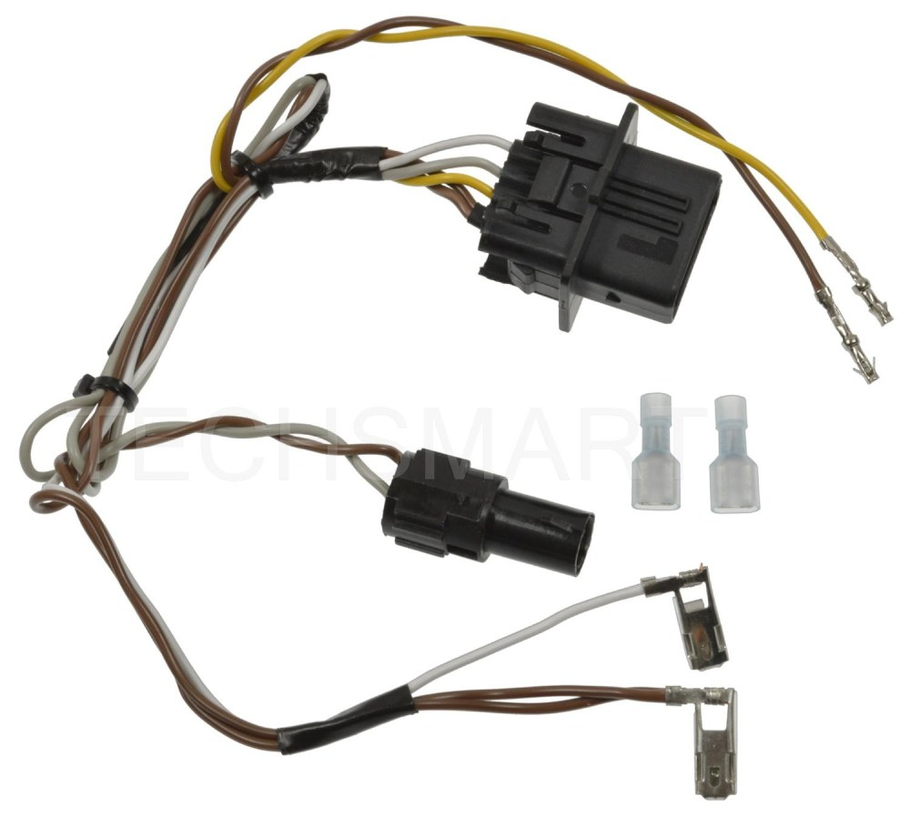 medium resolution of standard motor f90003 headlight wiring harness for mercedes benz clk320
