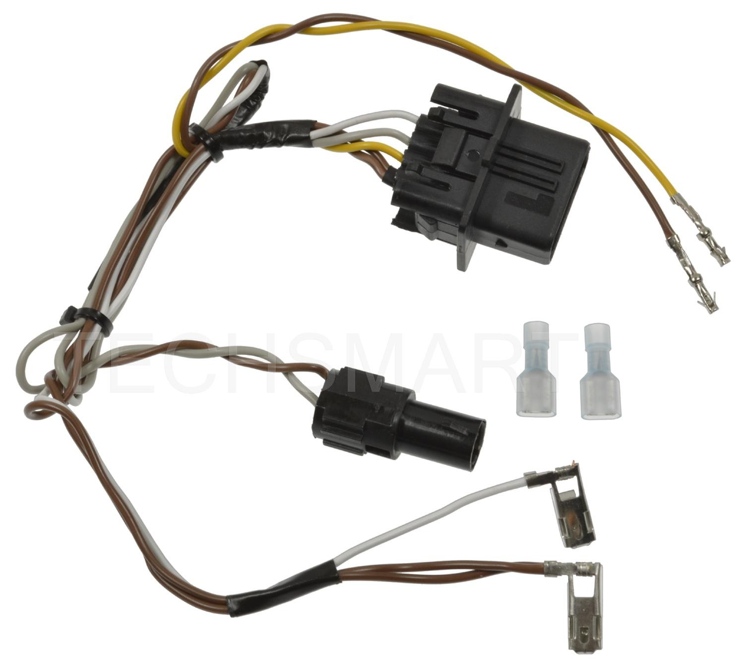 hight resolution of standard motor f90003 headlight wiring harness for mercedes benz clk320