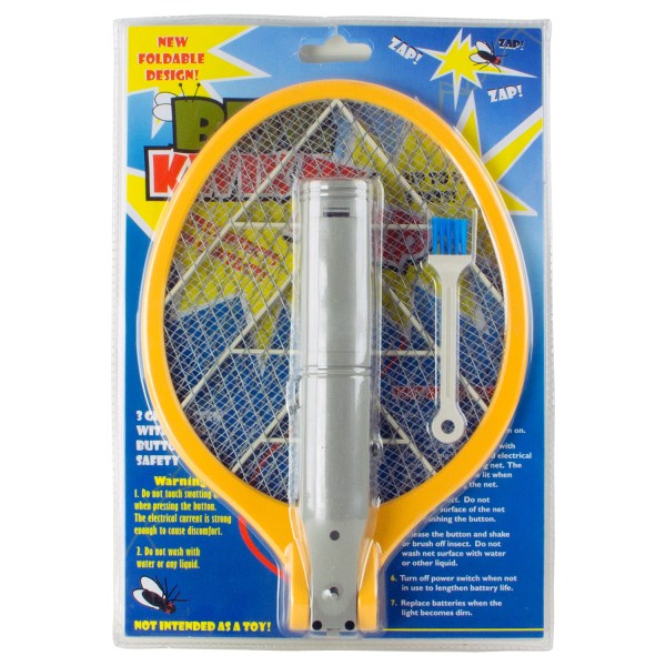 Easy High Voltage Fly Swatter Mod - Year of Clean Water