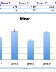 Graph with custom error bars excel column   also bisc statistics and graphing openwetware rh