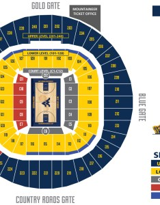 Basketball seating chart  wvu west virginia mountaineers sports coverage blue gold news also rh bluegoldnews