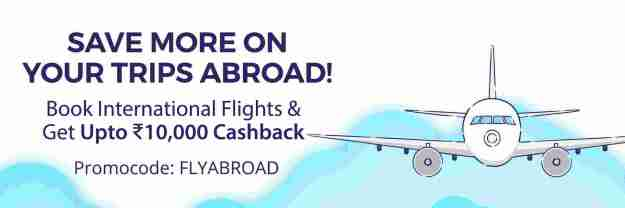 Paytm FLYABROAD Offer
