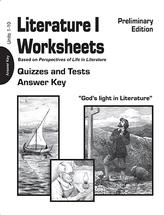 Christian Light Publications Literature I • Grade 10