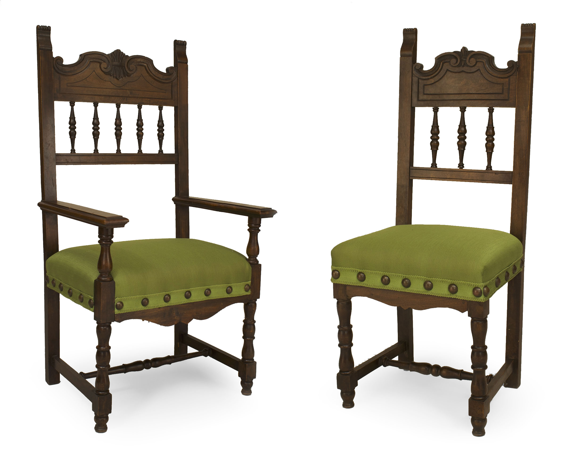 Chair In Spanish About Us Spanish Renaissance Green Upholstered Chair