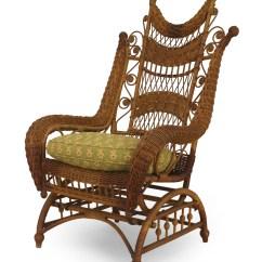 Woven Rocking Chair Dream Swing Hammock American Victorian Wicker