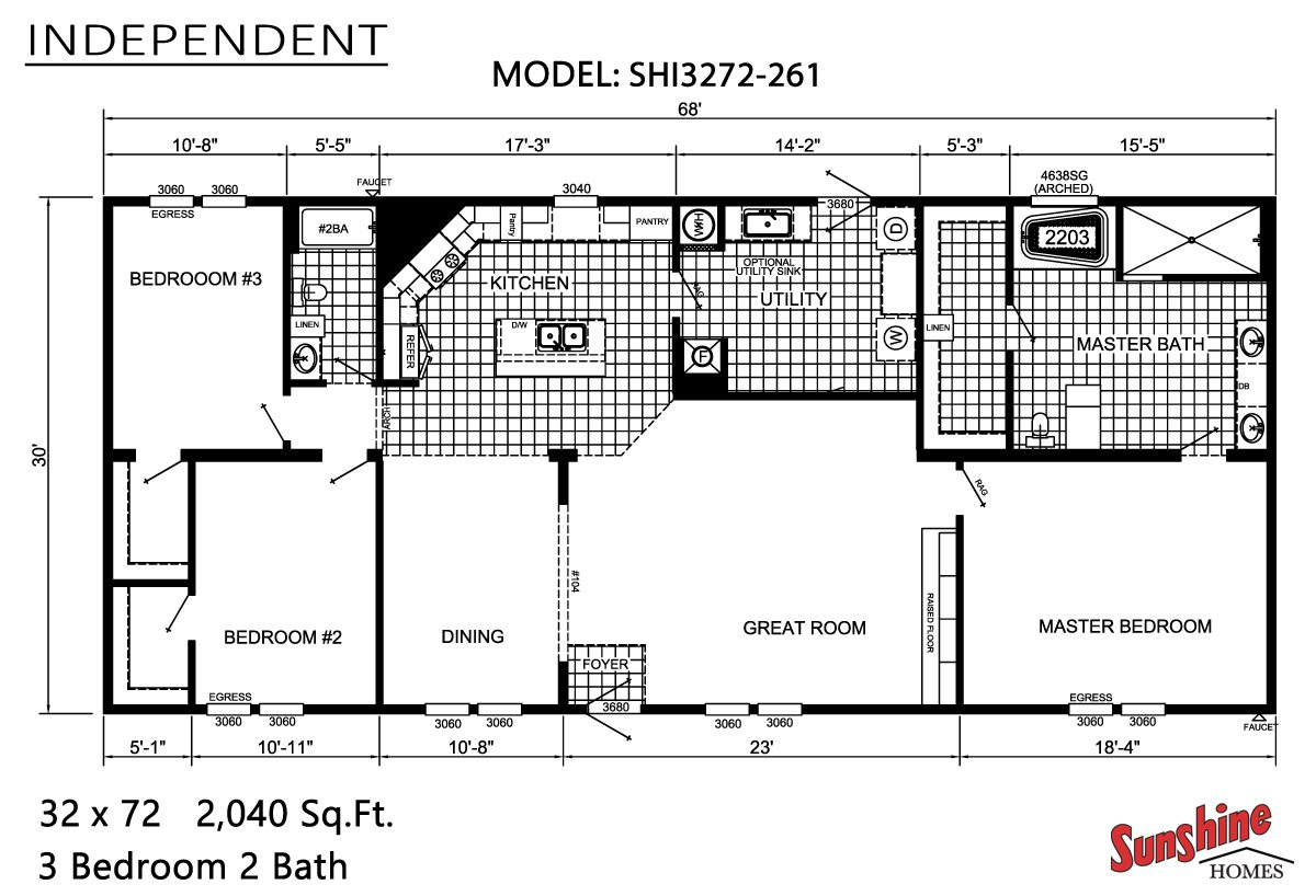 Independent / SHI3272-261 by Cedar Creek Homes MO