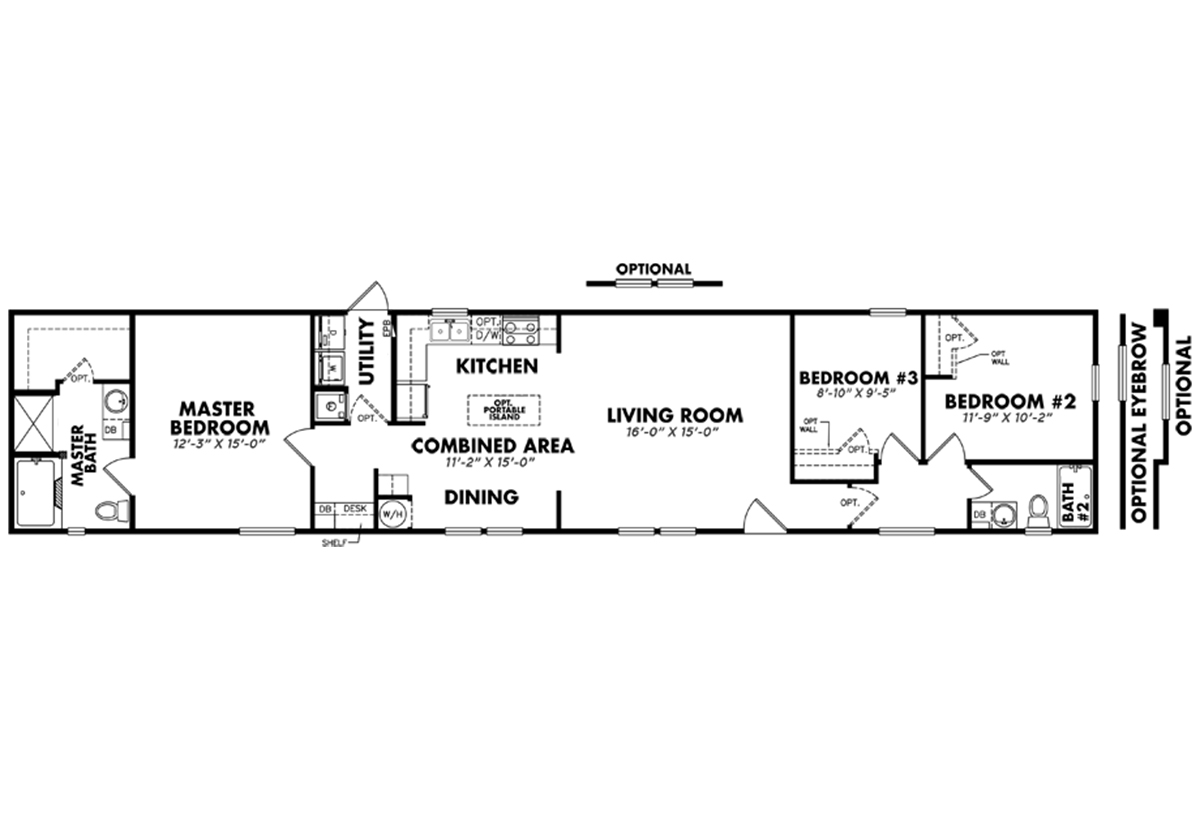 Heritage / 1680-32D by Legacy Housing