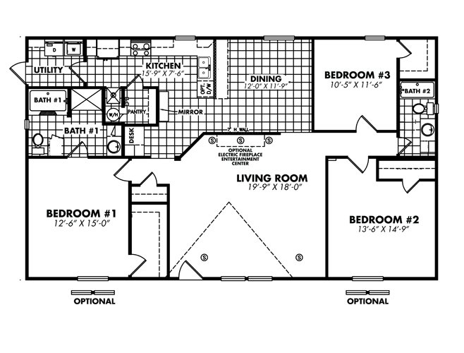 Heritage / 3256-32G by Legacy Mobile Home Sales