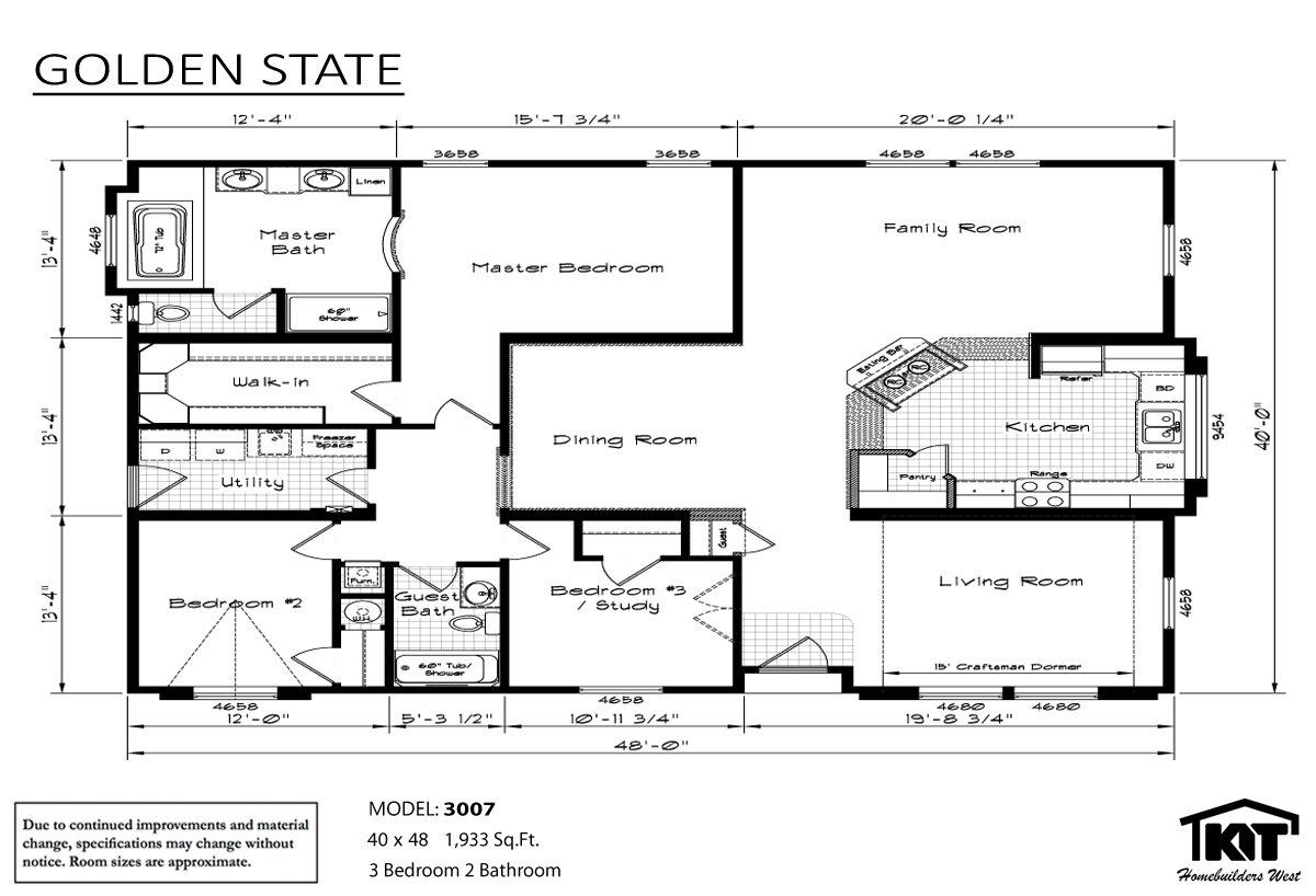 Manufactured Home Floor Plans Washington State
