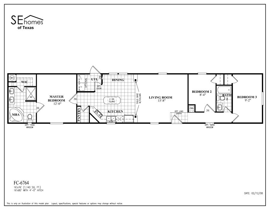 Energizersingle / FC-6764-Nueces by Southern Energy Homes