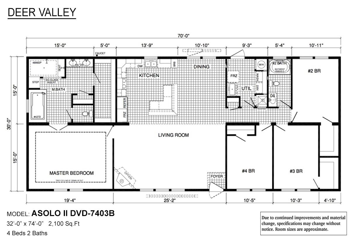Deer Valley Series / Asolo II DVD-7403B By Deer Valley