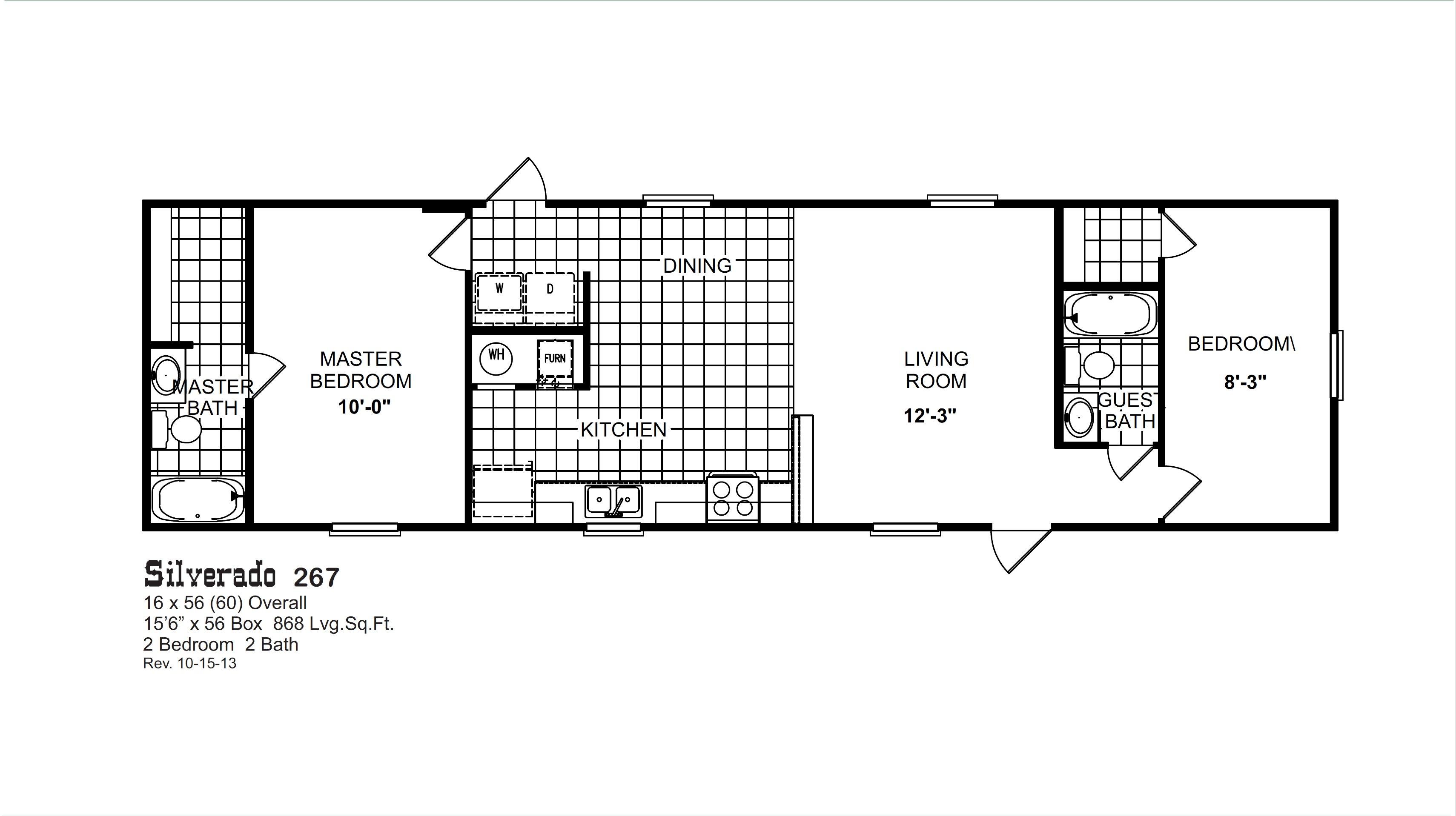 Silverado 267 By Oak Creek Homes