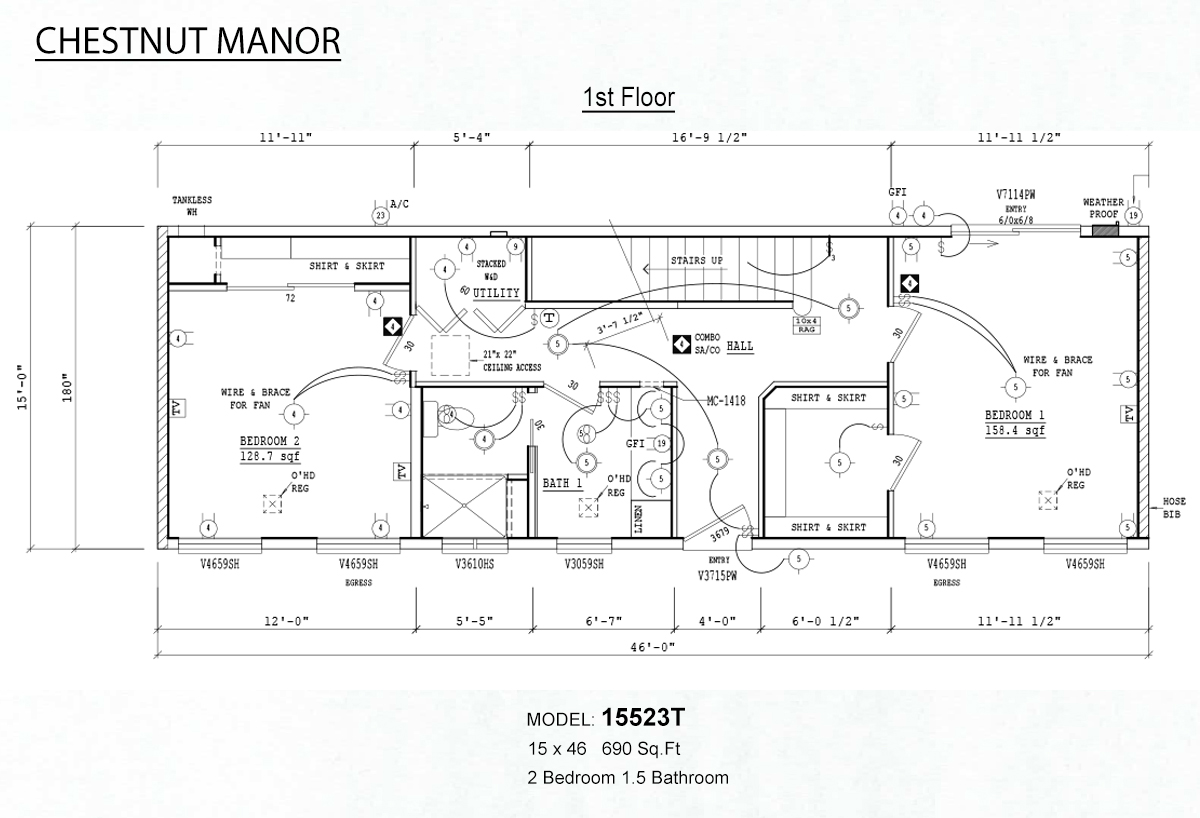 Fleetwood Manufactured Home Electric | Wiring Diagram Database