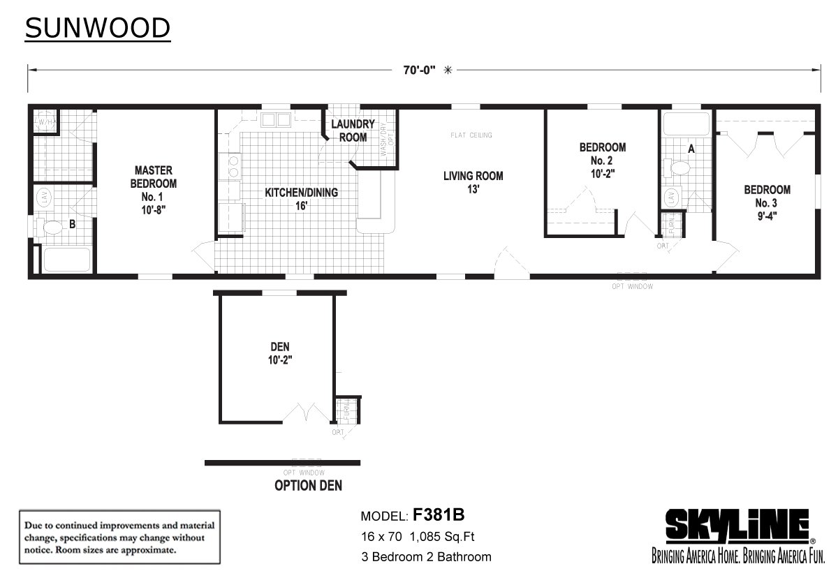 Sunwood F381b By Factory Expo Home Center