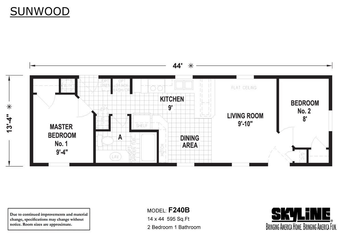 Sunwood F240b By Skyline Homes