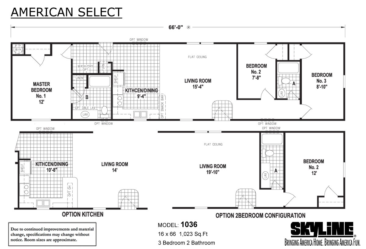 American Select By Skyline Homes