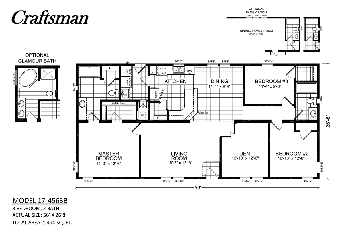 Craftsman 17 B By Champion Homes