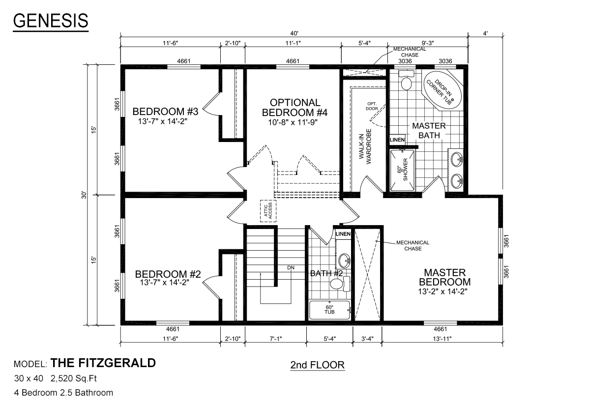 Genesis Modular The Fitzgerald By Redman Homes Topeka