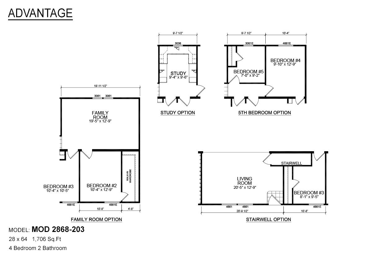 Advantage Modular Mod 203 By D Amp J Homes