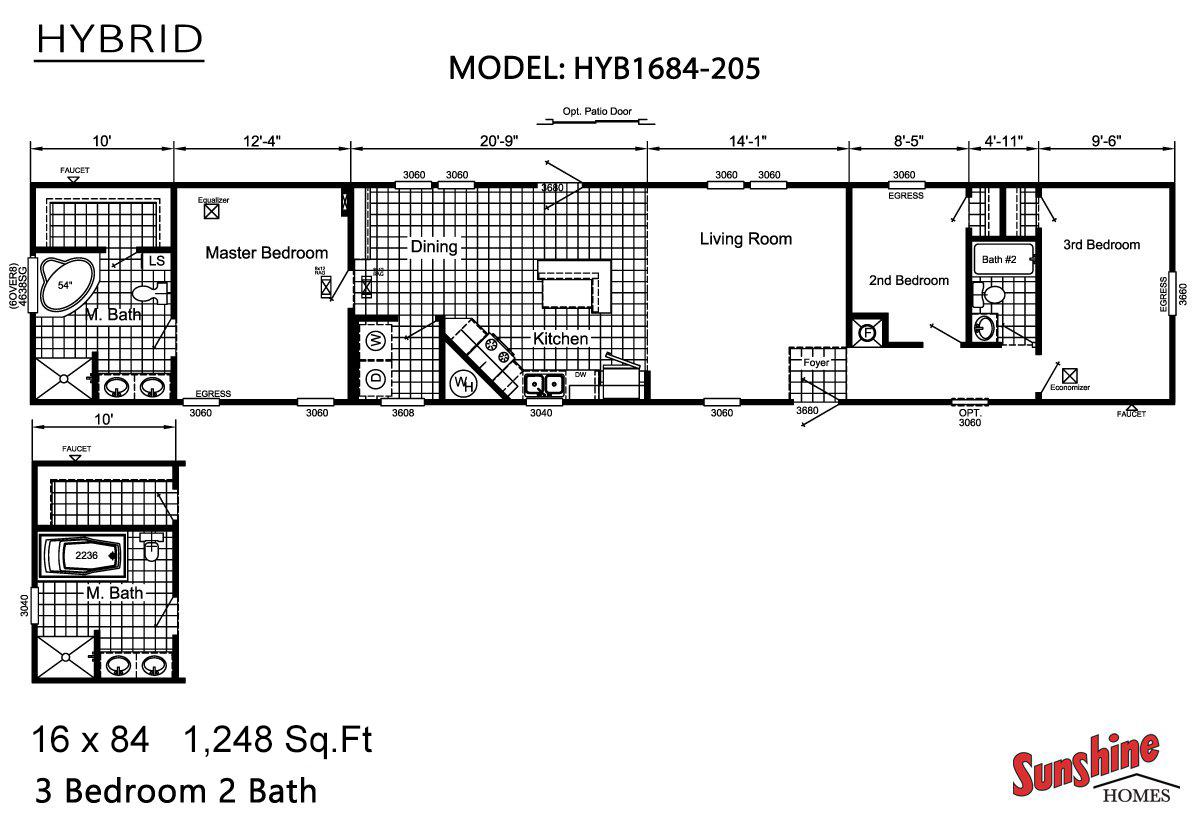 hight resolution of hybrid hyb1684 205 layout