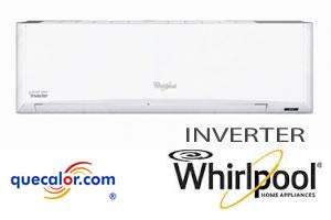 Minisplit Inverter Whirlpool Hi-Wall 1.5 TR, Solo Frio 220