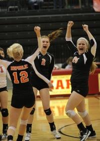 Volleyball Playoffs at Ozark 12