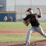 (File photo) Chandler Coates lowered his ERA to 1.42. He has 84 strikeouts this season.