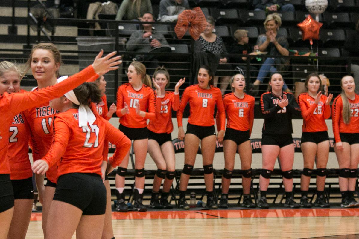 Photos: Varsity Volleyball Vs Buffalo (Sr Night)