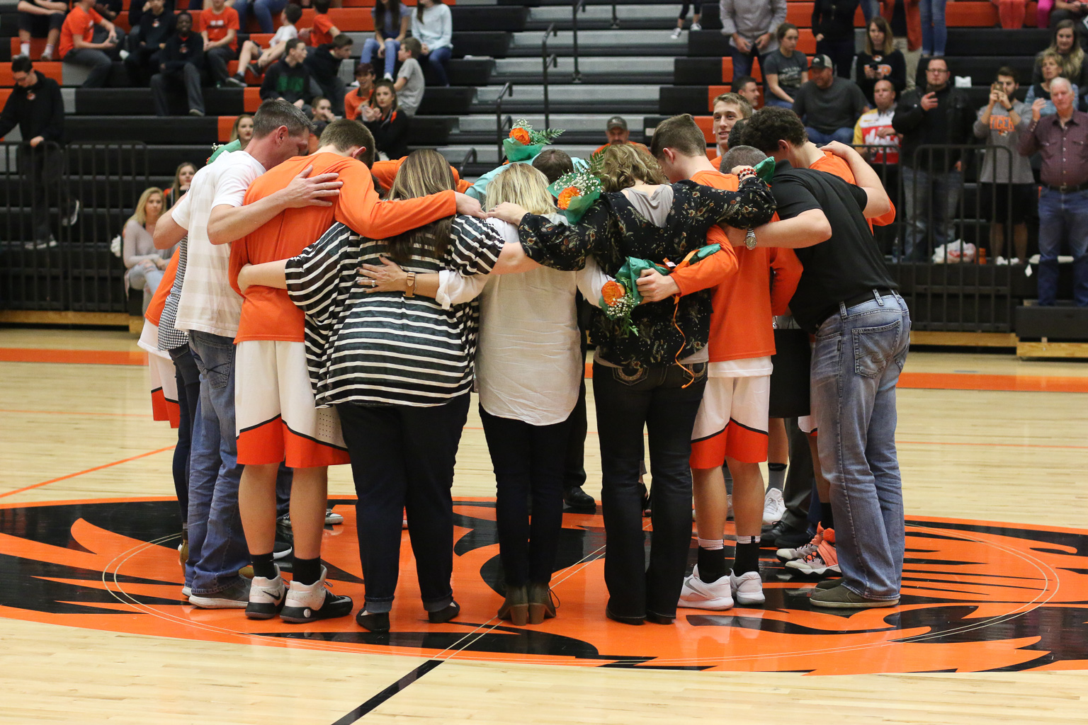 Senior Tributes: Boys Basketball & Cheer