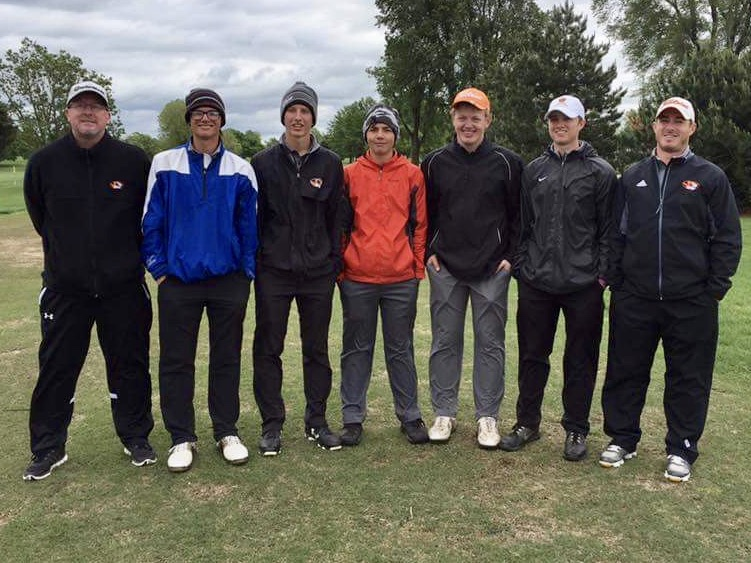 Tiger Golfers Sweep Into Sectionals