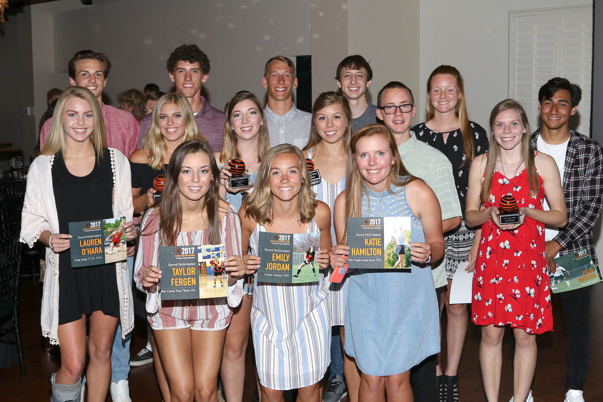 Photos:  Republic Tiger Sports Awards & Hall Of Fame Induction