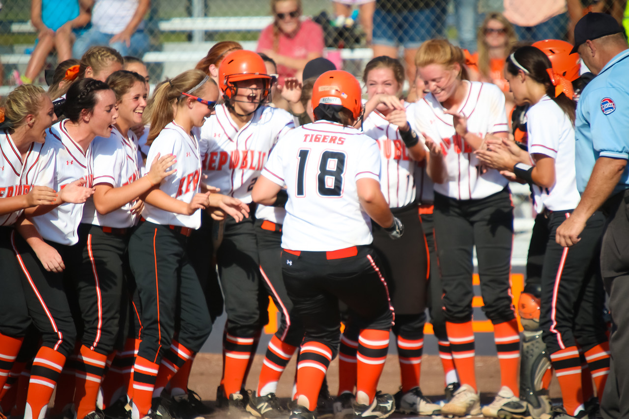 Story #10: Republic Softball's 2nd Straight COC Title