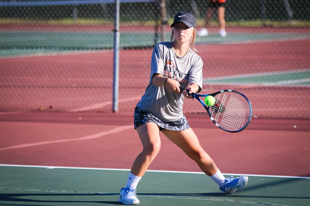 Lady Tigers Romp In Tennis Season Opener