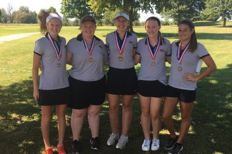Multiple Career Bests Help Lady Tigers Place At Pearson