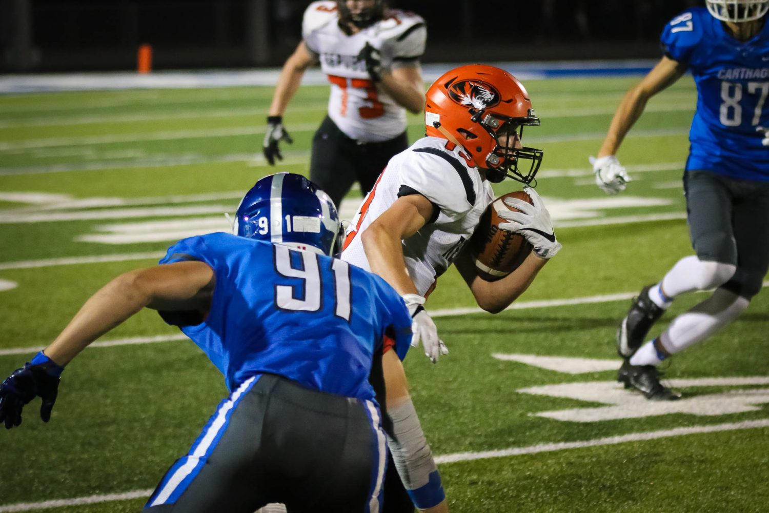 Photos:  Varsity Football Vs Carthage