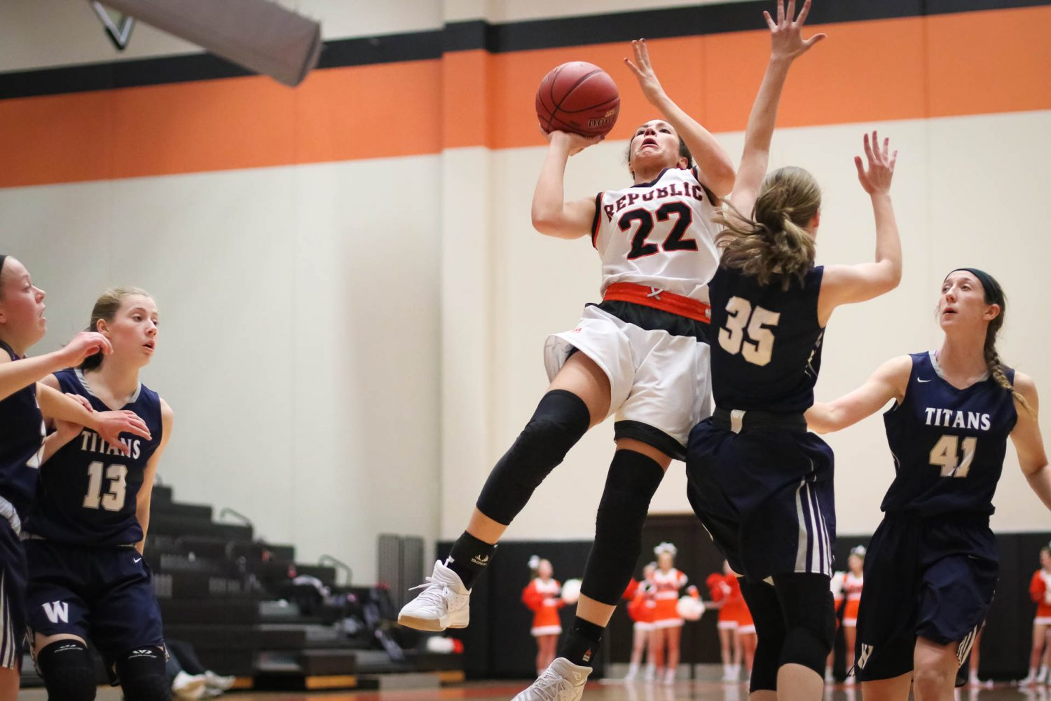 Barrage Of Threes Sinks Lady Tigers