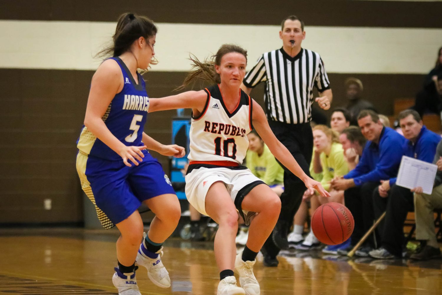 Photos:  Varsity Girls Basketball vs Harrison Ark