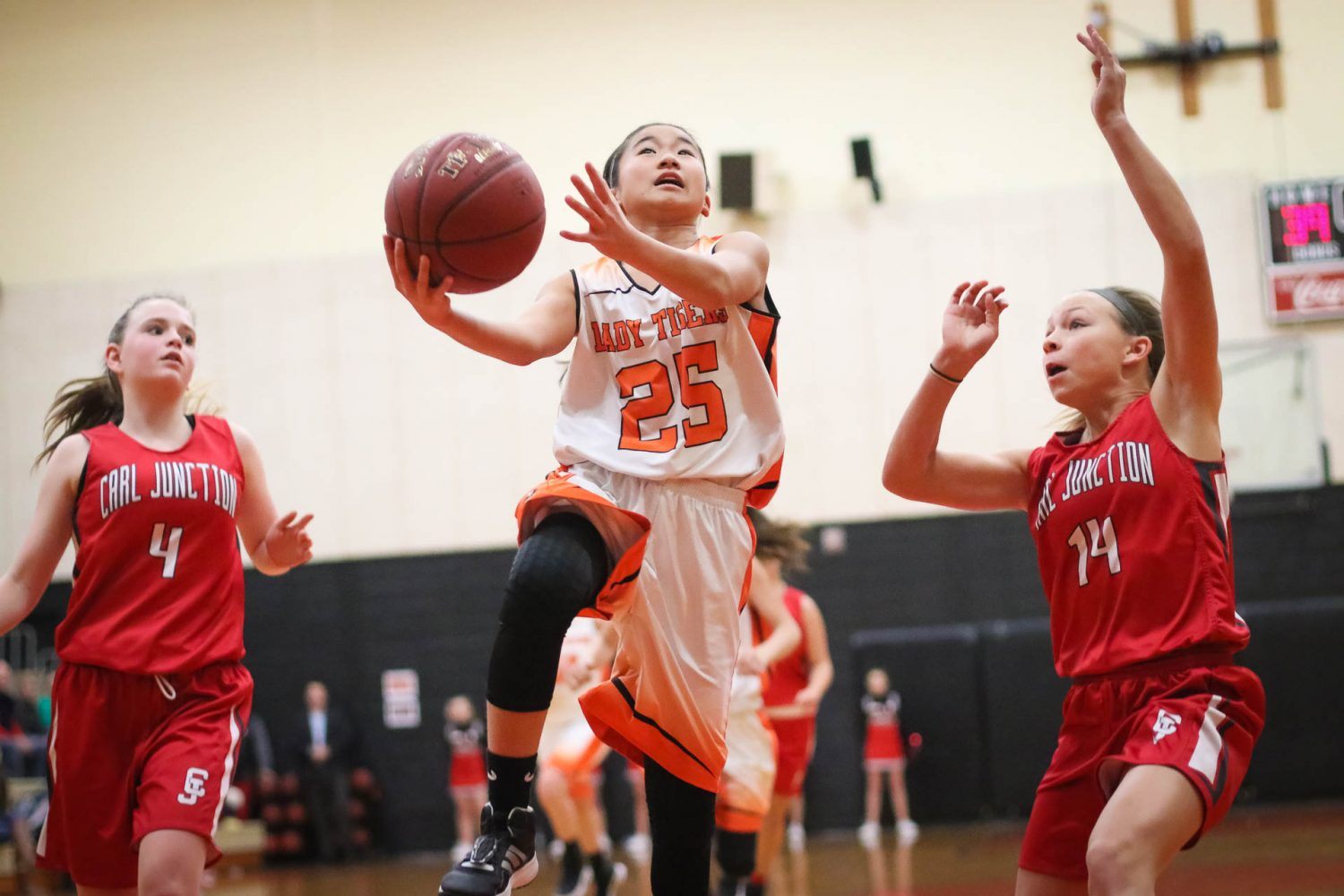 Photos:  8th Grade Girls Basketball Vs Carl Junction