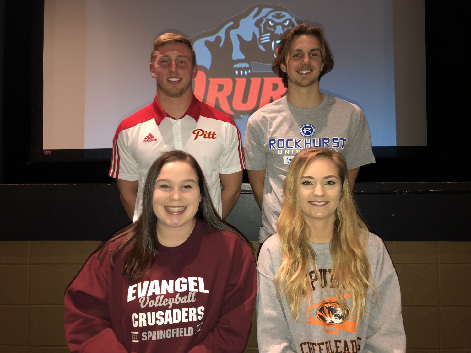 Four Repmo Athletes Sign College Letters