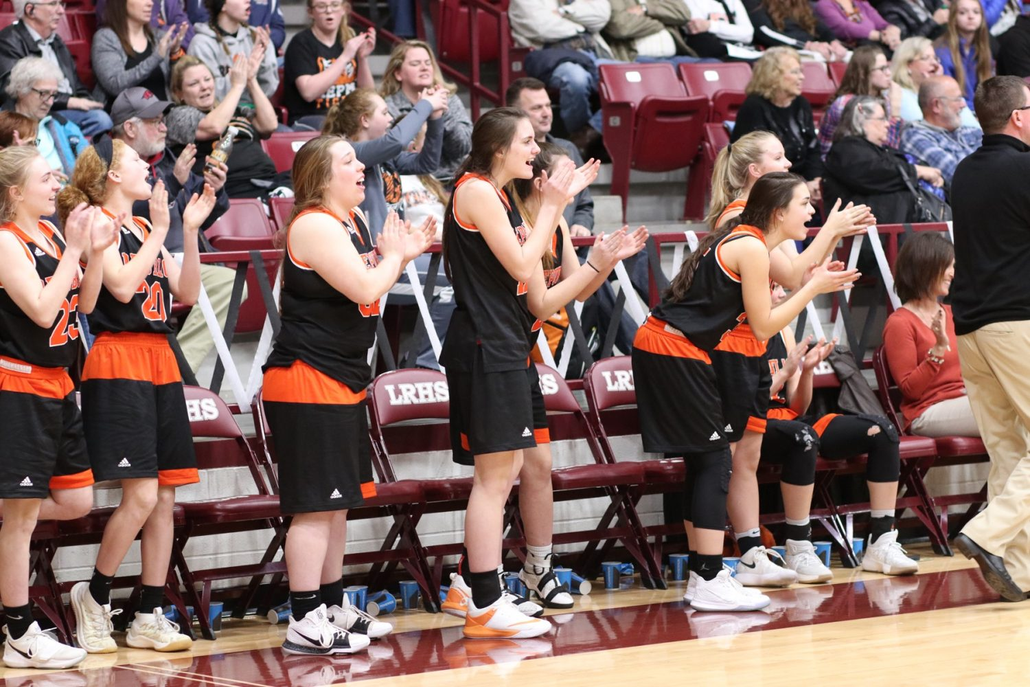 Lady Tigers Fight Back, Close With Road Win