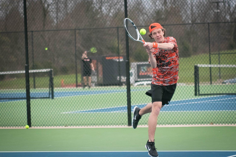 Tigers Broadside Pirates In Tennis Sweep