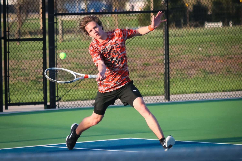 Photos:  Varsity Tennis Vs Nixa
