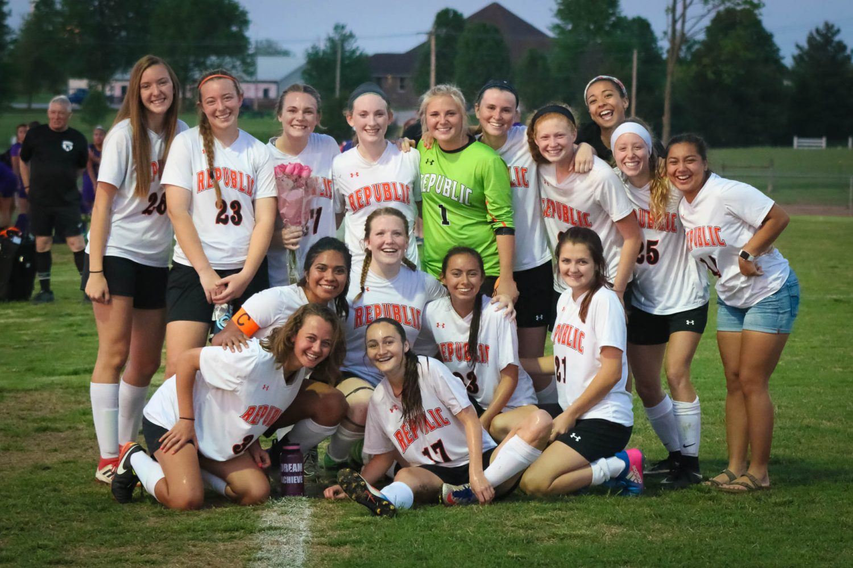 Photos:  Soccer Senior Night Vs Monett