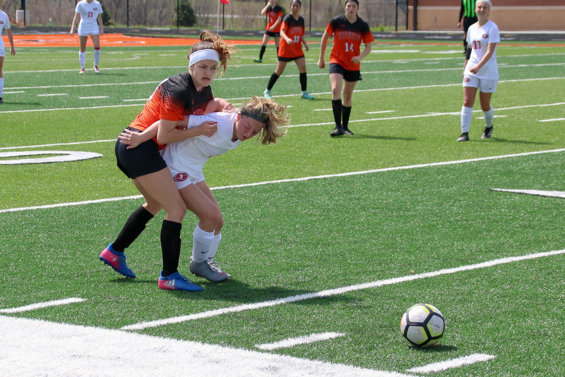 Photos:  Varsity Soccer Vs Jefferson City