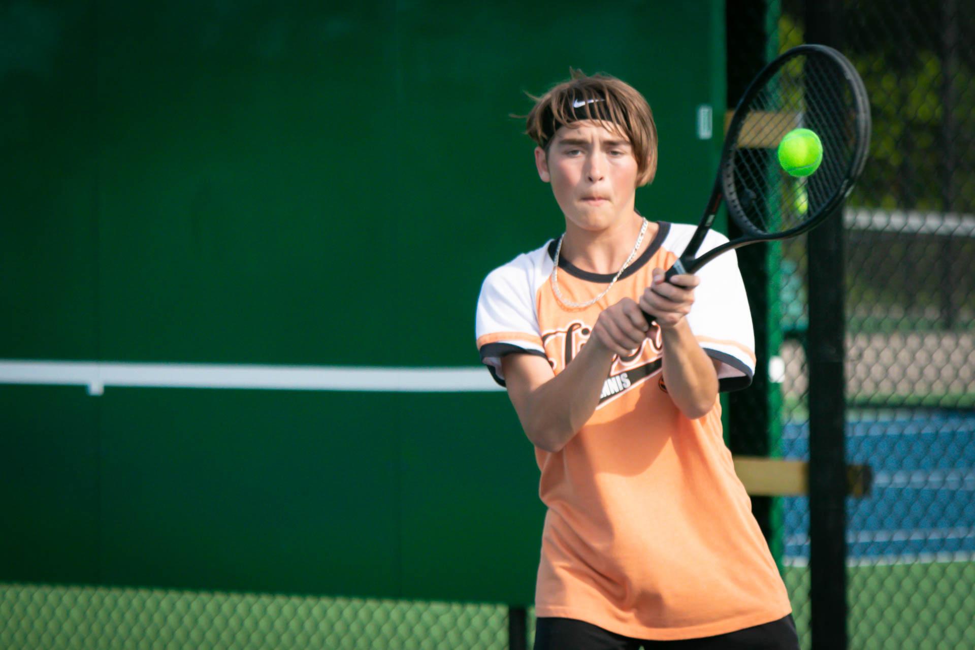 Tennis Tigers Fall In Team District Final