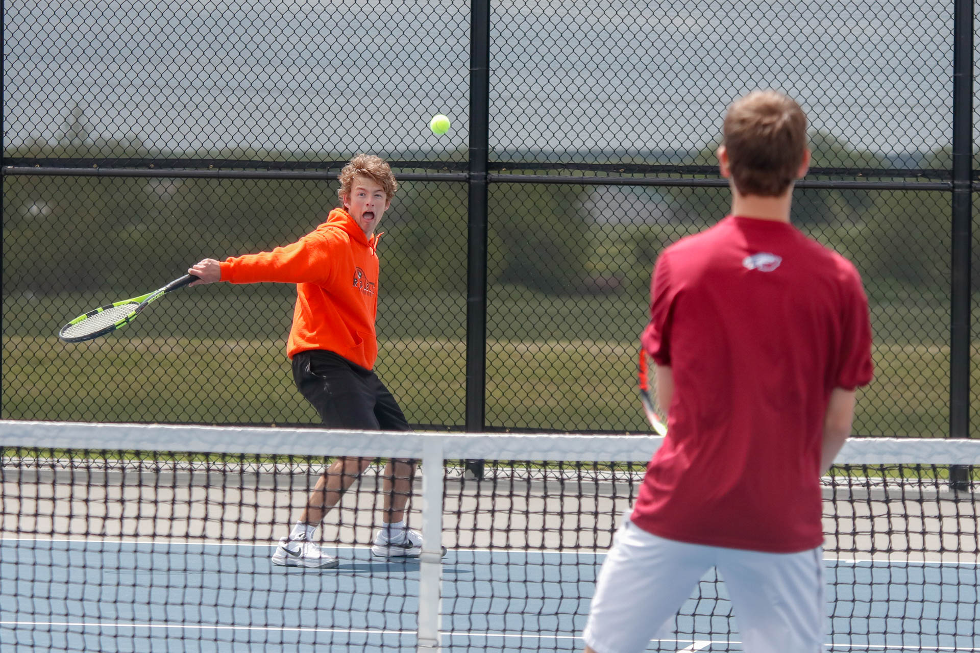 Photos:  Tennis Individual Districts