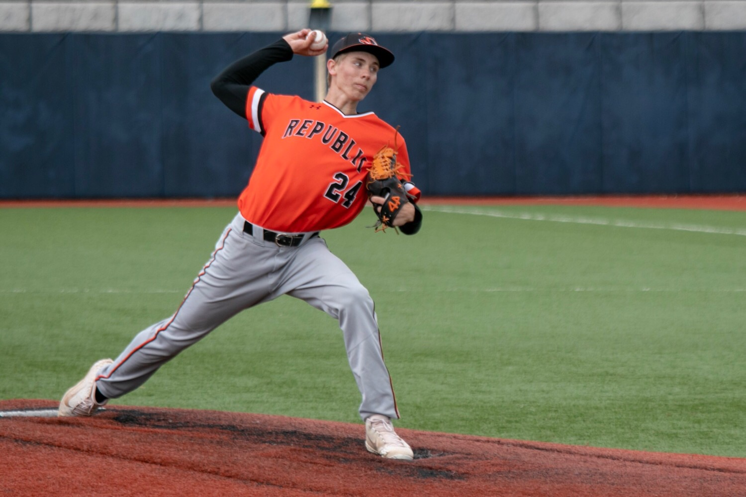 Hughes Pitches Tigers To District Semifinal